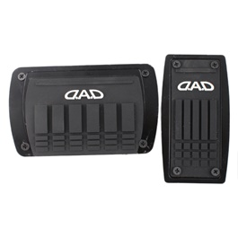 Auto Car DAD Pedal Covers Black Universal-SehgalMotors.Pk
