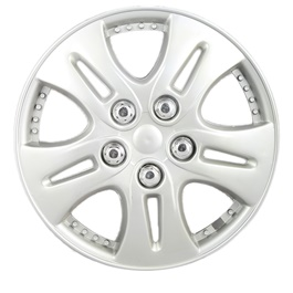 Silver Wheel Cover - 06 - 12 inches | Tire Wheel Cover | Wheel Center Cover | Wheel Decoration Item-SehgalMotors.Pk