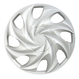Silver Wheel Cover - 777 - 12 inches-SehgalMotors.Pk