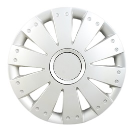 Silver Wheel Cover - 1292 - 12 inches-SehgalMotors.Pk