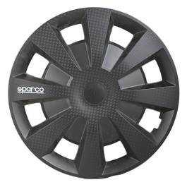 Dull Black Wheel Cover - 2017 - 15 inches-SehgalMotors.Pk