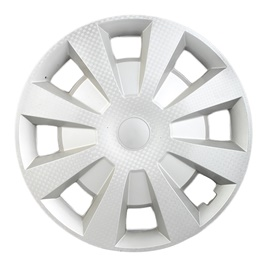 Silver Wheel Cover - 2017 - 15 inches-SehgalMotors.Pk