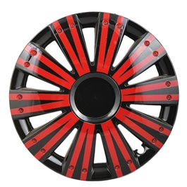 DC Black with Double Thick Red Lining Wheel Cover - 1292 - 12 inches-SehgalMotors.Pk