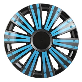 DC Black with Double Lining Wheel Cover - 1295 - 12 inches-SehgalMotors.Pk