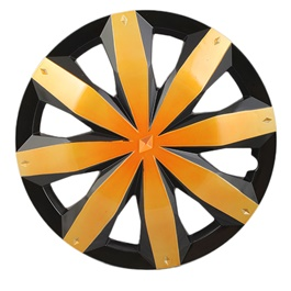 DC Gold Wheel Cover - 1295 - 12 inches | Tire Wheel Cover | Wheel Center Cover | Wheel Decoration Item-SehgalMotors.Pk
