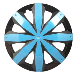 DC Blue Wheel Cover - 1295 - 12 inches | Tire Wheel Cover | Wheel Center Cover | Wheel Decoration Item-SehgalMotors.Pk