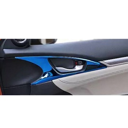 Honda Civic Interior Door Handle Trim Blue - Model 2016-2020-SehgalMotors.Pk