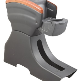New Generation Arm Rest - Black and Brown-SehgalMotors.Pk