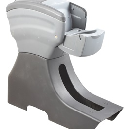 New Generation Arm Rest - Grey And Black-SehgalMotors.Pk