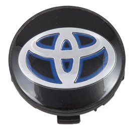 Toyota Wheel Cap Cover - Black-SehgalMotors.Pk