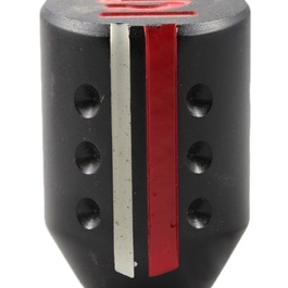 Sparko Dotted Gear Knob - Red and White