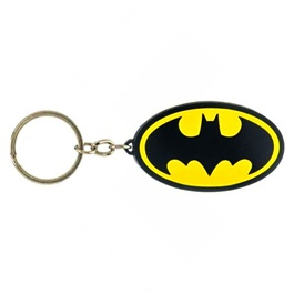 Batman Key Chain / Key Ring - Black and Yellow-SehgalMotors.Pk