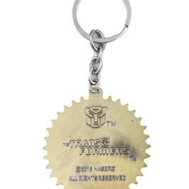 Transformers Metal Keychain - Gold