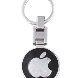 Apple Logo Metal Key Chain / Key Ring-SehgalMotors.Pk