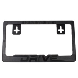 Drive License Plate Frame Black-SehgalMotors.Pk