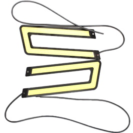 U Shaped Bumper Day Light-SehgalMotors.Pk