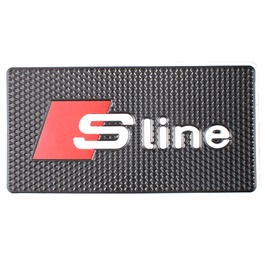 S Sline Dashboard Non Slip / Anti-Skid Mat | Anti Skid Material | Silicon Type Dashboard Mat | Car Anti Slip Mat-SehgalMotors.Pk
