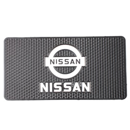 Nissan Logo Dashboard Non Slip / Anti-Skid Mat | Anti Skid Material | Silicon Type Dashboard Mat | Car Anti Slip Mat-SehgalMotors.Pk