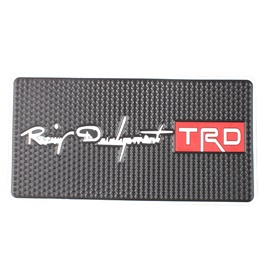 Fancy TRD Logo Dashboard Non Slip Mat