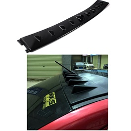 Honda Civic Roof Spoiler EVO Style Black -  Model 2016-2017
