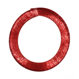 Rim Pvc Line Defining Plastic Strip - Red-SehgalMotors.Pk