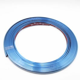 Rim Pvc Line Defining Plastic Strip - Blue-SehgalMotors.Pk