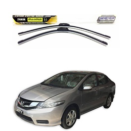 Honda City Maximus Premium Silicone Wiper Blades - Model 2015-2017-SehgalMotors.Pk