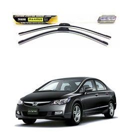 Honda Civic Maximus Premium Silicone Wiper Blades - Model 2006-2012