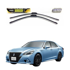 Toyota Crown Maximus Premium Silicone Wiper Blades - Model 2012-2017-SehgalMotors.Pk