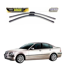 BMW 3 Series Maximus Premium Silicone Wiper Blades - Model 1998-2006-SehgalMotors.Pk