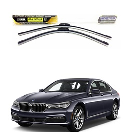 BMW 7 Series Maximus Premium Silicone Wiper Blades - Model 2016-2019-SehgalMotors.Pk