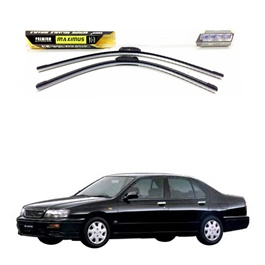 Nissan Blue Bird 12th Generation Maximus Premium Silicone Wiper Blades 1996-2001-SehgalMotors.Pk