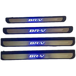 Honda BRV Sill Plates Chrome Black - Model 2017-SehgalMotors.Pk