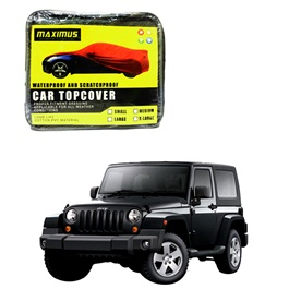 Jeep Wrangler Maximus Non Woven Scratchproof Waterproof Car Top Cover - Model 2007 - 2017-SehgalMotors.Pk