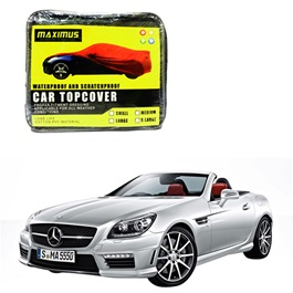 Mercedes Benz SLK Class Maximus Non Woven Scratchproof Waterproof Car Top Cover 2011 - 2017-SehgalMotors.Pk