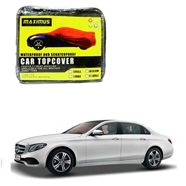 Mercedes Benz E Class Maximus Non Woven Scratchproof Waterproof Car Top Cover - Model 2016-2019-SehgalMotors.Pk