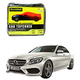 Mercedes Benz C Class Maximus Non Woven Scratchproof Waterproof Car Top Cover - Model 2014-2017-SehgalMotors.Pk
