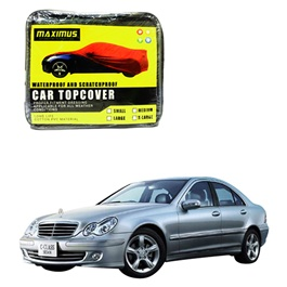 Mercedes Benz C Class Maximus Non Woven Scratchproof Waterproof Car Top Cover - Model 2001-2007-SehgalMotors.Pk