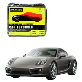 Porsche Cayman Maximus Non Woven Scratchproof Waterproof Car Top Cover - Model 2012-2017-SehgalMotors.Pk