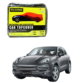 Porsche Cayenne Maximus Non Woven Scratchproof Waterproof Car Top Cover - Model 2010-2017-SehgalMotors.Pk