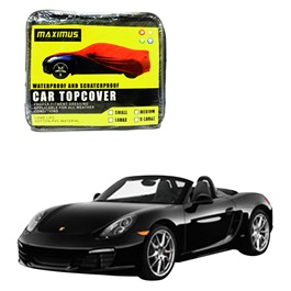 Porsche Boxster Maximus Non Woven Scratchproof Waterproof Car Top Cover - Model 2012-2016-SehgalMotors.Pk