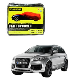 Audi Q7 Maximus Non Woven Scratchproof Waterproof Car Top Cover - Model  2005-2015-SehgalMotors.Pk