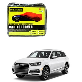 Audi Q7 Maximus Non Woven Scratchproof Waterproof Car Top Cover - Model 2016-2019-SehgalMotors.Pk