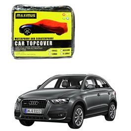 Audi Q3 Maximus Non Woven Scratchproof Waterproof Car Top Cover - Model 2012-2017-SehgalMotors.Pk