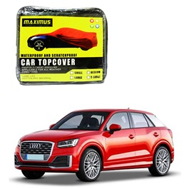 Audi Q2 Maximus Non Woven Scratchproof Waterproof Car Top Cover - Model  2017-2019-SehgalMotors.Pk