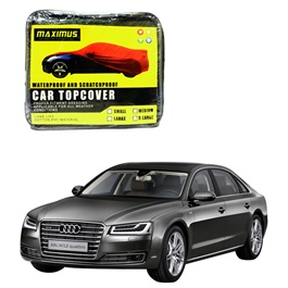 Audi A8 Maximus Non Woven Scratchproof Waterproof Car Top Cover - Model  2009 - 2017-SehgalMotors.Pk