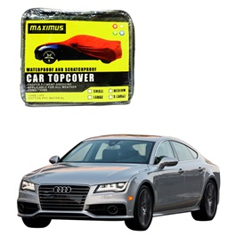 Audi A7 Maximus Non Woven Scratchproof Waterproof Car Top Cover - Model  2010 - 2017-SehgalMotors.Pk