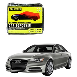 Audi A6 Maximus Non Woven Scratchproof Waterproof Car Top Cover - Model  2011-2017-SehgalMotors.Pk