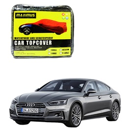 Audi A5 Maximus Non Woven Scratchproof Waterproof Car Top Cover - Model 2017-SehgalMotors.Pk