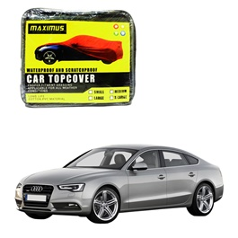 Audi A5 Maximus Non Woven Scratchproof Waterproof Car Top Cover - Model 2007-2016-SehgalMotors.Pk